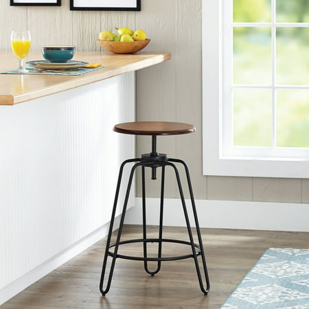 Fine Better Homes Gardens Adjustable Height Spin Stool Creativecarmelina Interior Chair Design Creativecarmelinacom