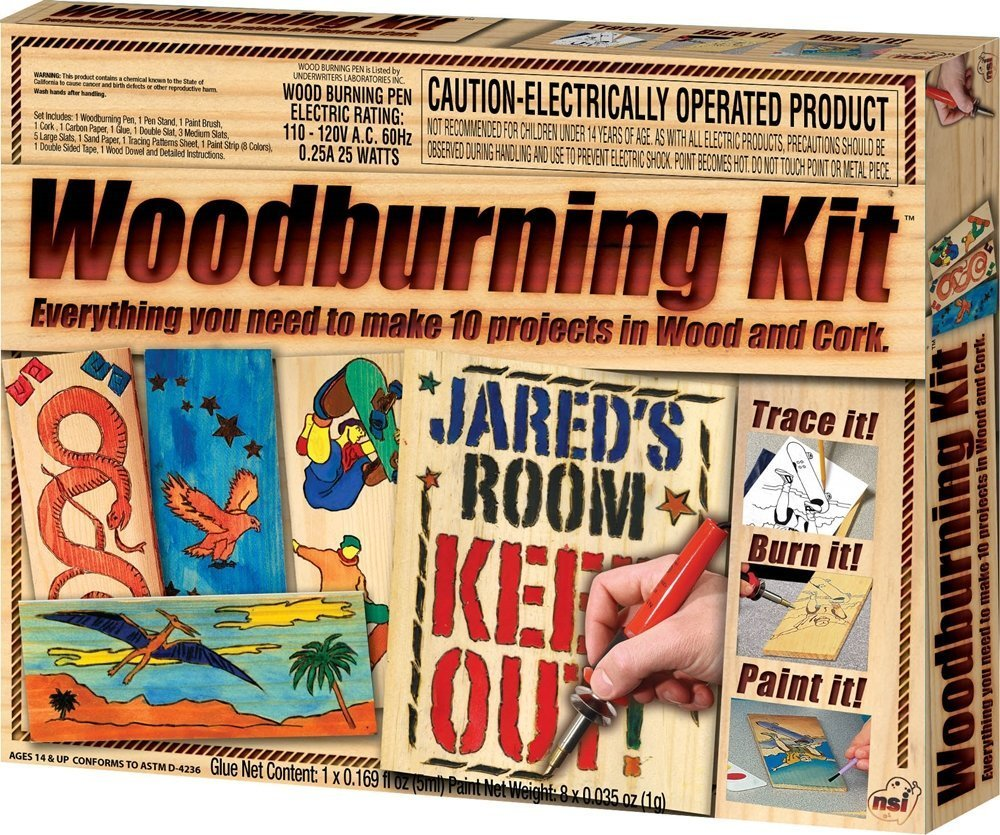 Wood Burning Kit Enjoy This Classic Craft For Boys And Girls By NSI