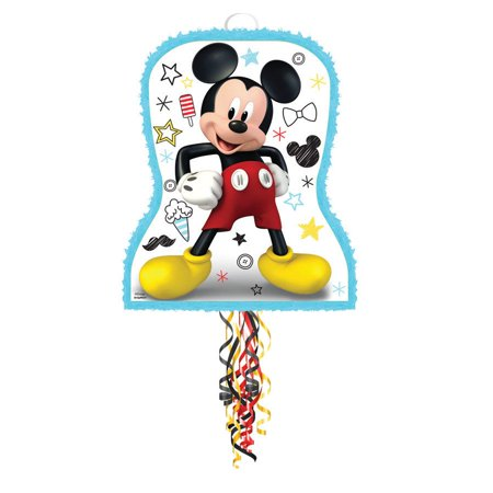 Mickey On The Go Pull String Pinata - Minnie Mouse Pinatas