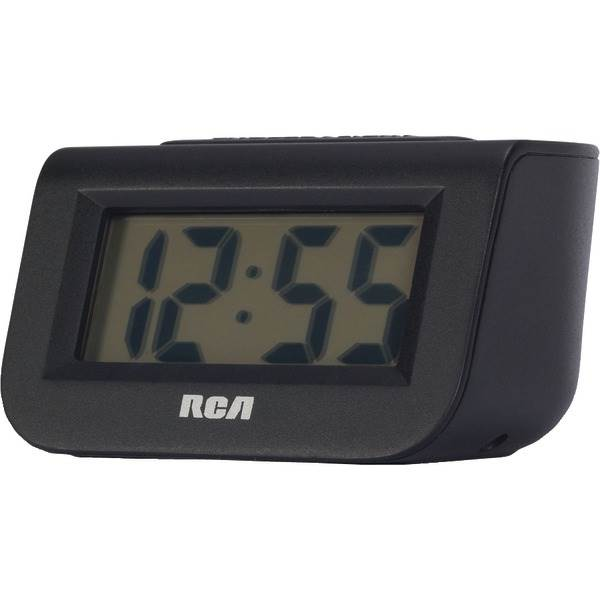"Alarm Clock with 1"" LCD Display"