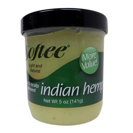 Softee Light And Natural Indian Hemp Hair And Scalp Treatment, 5 Oz, 2