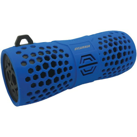 Sylvania SP332, IPX6 Water-Resistant Rugged Portable Bluetooth(R) Speaker