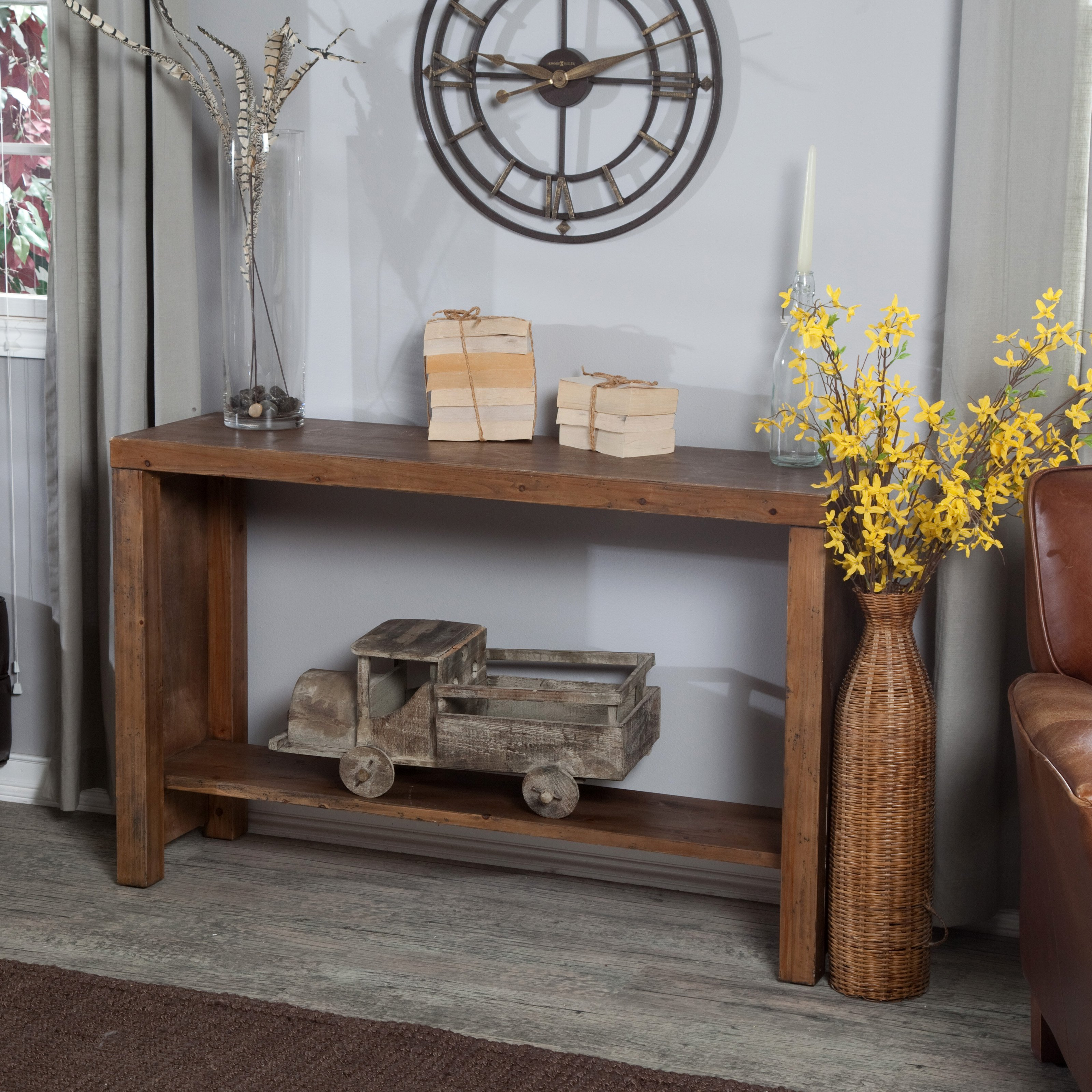 Belham Living Brinfield Rustic Console Table