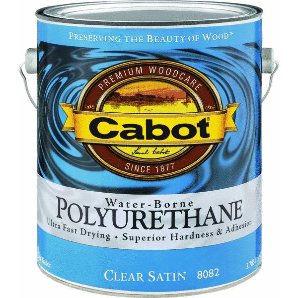 Cabot Water-Borne Interior Polyurethane