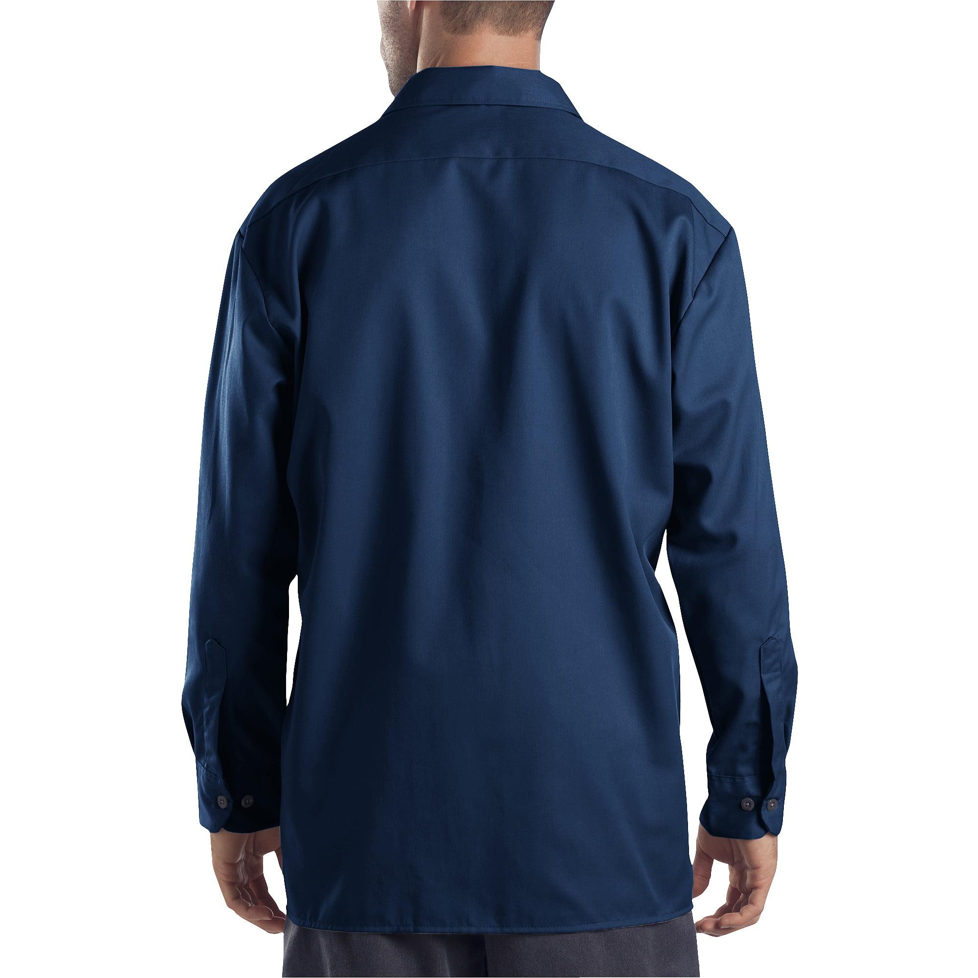 Dickies Men's Original Fit Long Sleeve Twill Work Shirt - Walmart.com