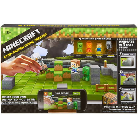 Minecraft Stop-Motion Movie Creator for $<!---->
