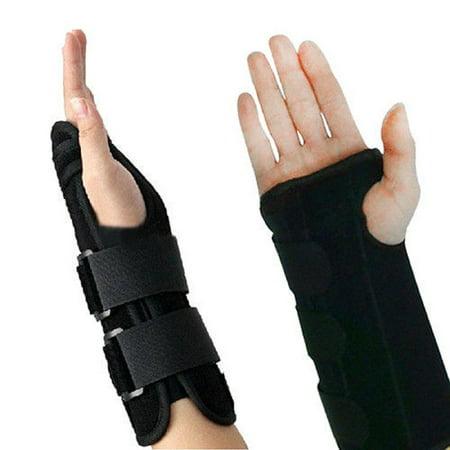 Luxur Hand Wrist Support Brace Splint Relief for Carpal tunnel Arthritis Sprain Strain Arthritis Sprain Gym Hand Protector