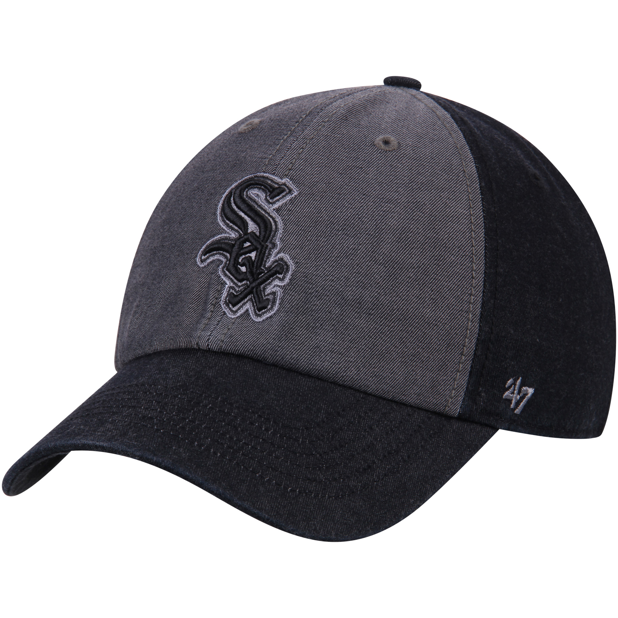 Chicago White Sox '47 Encoder Franchise Fitted Hat - Heathered Gray/Black