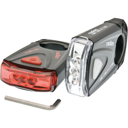 Bell Sports 7015561 Radian 350 Bike Light Set