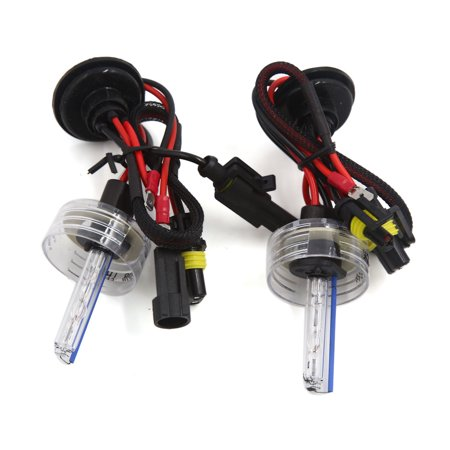 - 2 Pcs DC 12V 8000K H1 HID Xenon Replacement Bulb Light Lamp for Auto Car