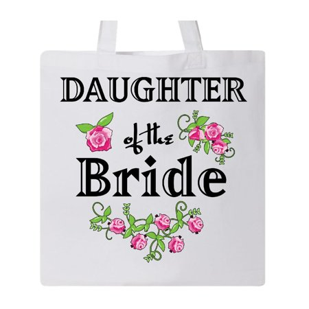 Reuse Bags (Daughter of the Bride with Roses Tote Bag White One Size)