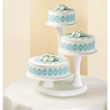 Wilton 3-Tier Pillar Cake Stand, 1 Ct