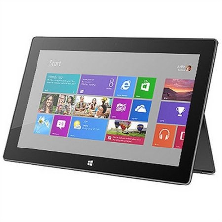 Refurbished Microsoft Surface RT Tablet 64GB Dark Titanium AC Only 7Z-R00001