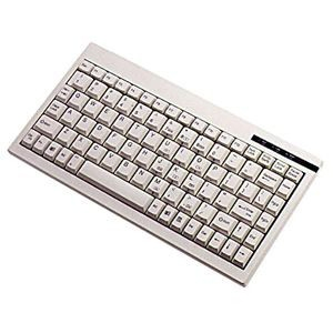 88KEY PS2 AXIS 7000 MINI KEYBOARD WHITE EMBED NUMERIC KEYPAD
