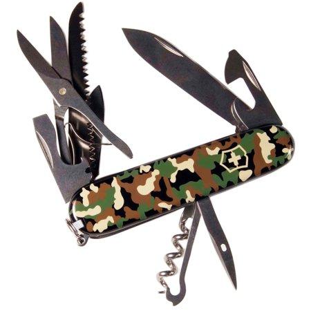 Victorinox Swiss Army Camouflage Huntsman Multi-Tool Knife - 53500