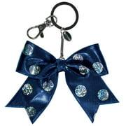 Chassé Girls' Mini Polka Dot Bow Keychain