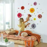 Gerbera Daisy Flower Wall Decals
