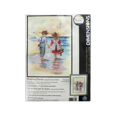 Dimensions Cross Stitch Kit 9x12 Holding Hands ()