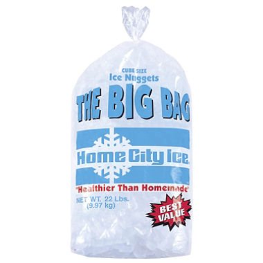 Home City Ice 22 Lb Bag
