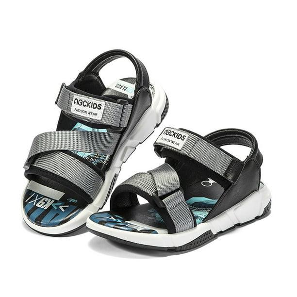 Esho - Boy Sandals Summer Kids Baby Anti-slip Soft Sole Toddler Shoes 4-7Y  - Walmart.com - Walmart.com