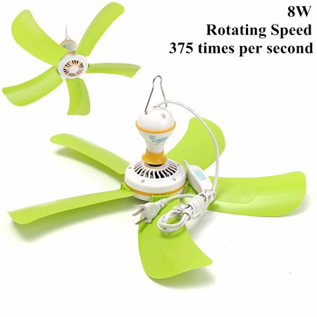 220v 8w portable plastic 5 blades mini ceiling fan easy hang us 220v 8w portable plastic 5 blades mini ceiling fan easy hang us power plug switch aloadofball Image collections