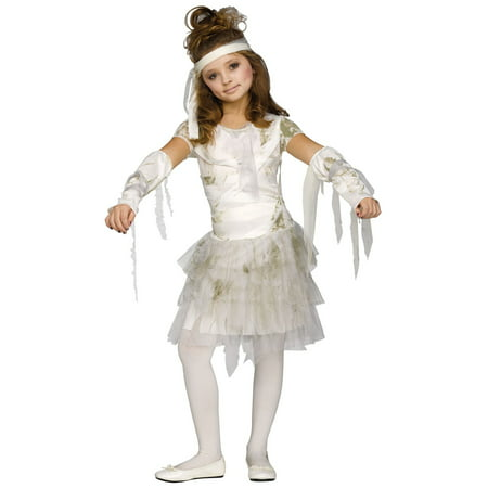 Kids Mummy Girl Costume - Diy Mummy Costume