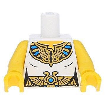 Lenox Royal Scroll - LEGO Female Tunic with Egyptian Royal Seal and Belt Loose Torso