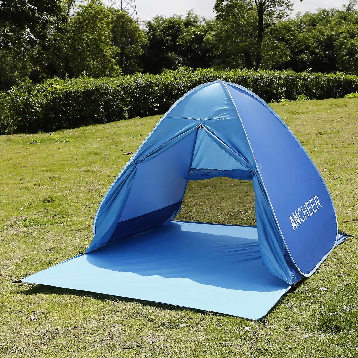 Pop Up Beach Shade Tent Instant Portable UV Protection Cabana Sun Shelter by