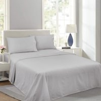 Royale Linens Soft Home Brushed Percale Ultra Soft 100% Cotton, Full 4-Piece Sheet Set