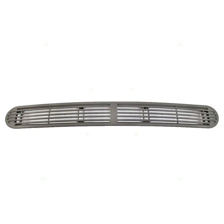 Dash Panel Cover (Gray Pewter Dash Defrost Vent Cover Grille Panel Replacement for Chevrolet GMC Oldsmobile SUV Pickup Truck 15046436, Direct replacement By AUTOANDART )