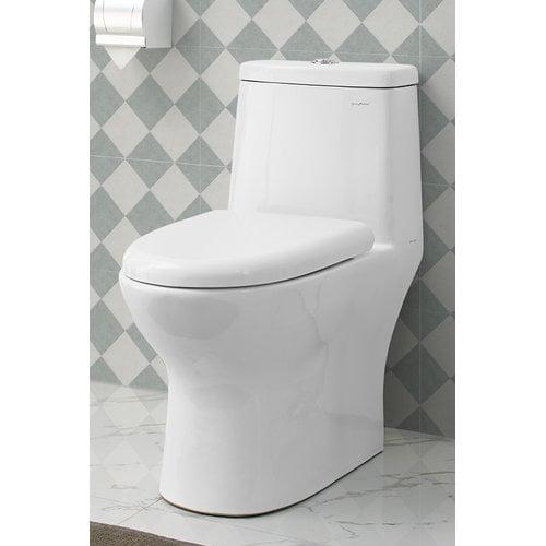Swiss Madison Ivy  1.28 GPF Elongated One-Piece Toilet