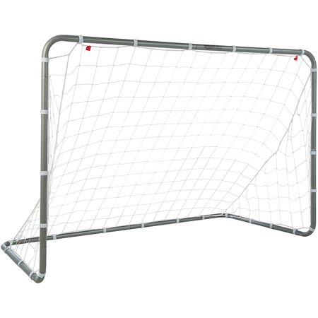 EEEKit Professional Soccer Goal and Net, Football Post Soccer Goal Target Net 6' x 4' Football Shooting Training Aid Ultimate Backyard Outdoor Kids Official Soccer -