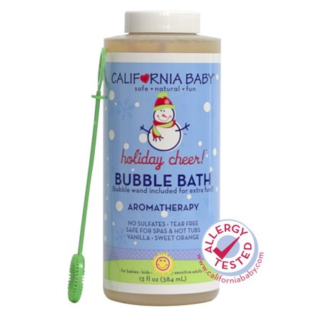 California Baby Bubble Bath, Holiday Cheer, 13 Fl Oz