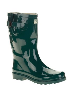 e26dd1cc3773a Product Image Forever Young Women's Short Shaft Rain Boots. Product  Variants Selector. Green