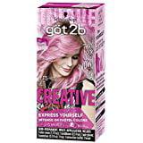 Got2b Creative Semi-Permanent Hair Color, 093 Pretty In (Best Drugstore Permanent Hair Dye)