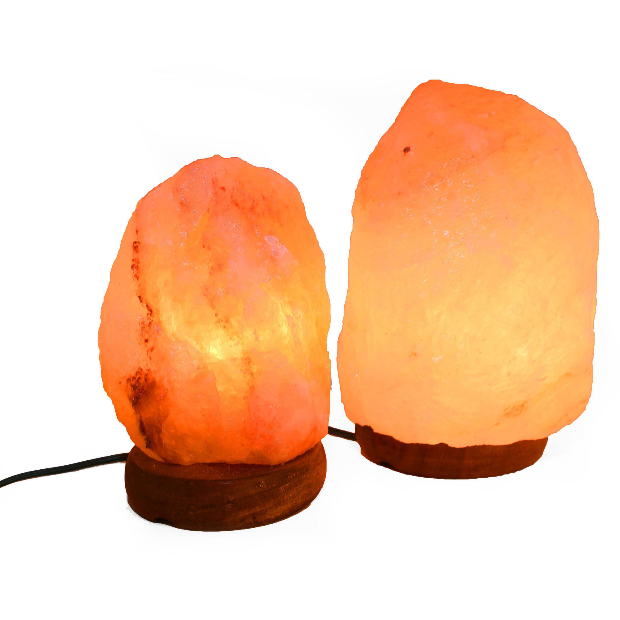 """Accentuations by Manhattan Comfort 6"""" Natural Shaped Himalayan Salt Lamp 1.6, Set of 2 with Dimmer by Manhattan Comfort"""
