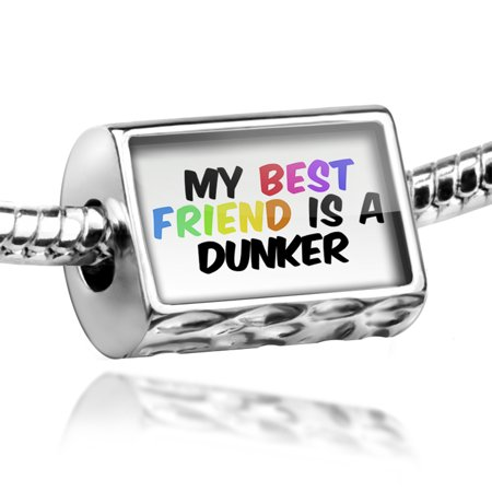 Bead My best Friend a Dunker Dog from Norway Charm Fits All European
