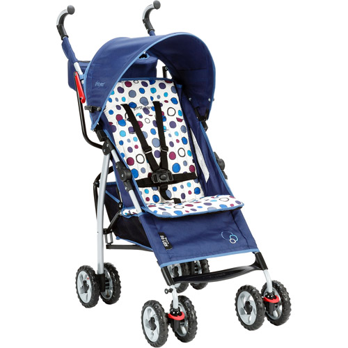 The First Years Ignite Stroller, Abstract O's, Navy