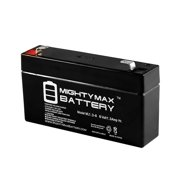 6V 1.3Ah SLA REPLACEMENT FOR 652001 E101 E101A H101 Battery