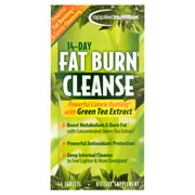 Applied Nutrition 14-Day Cleanse Fat Burning Weight Loss Pills with Green Tea, Tablets, 56 Ct