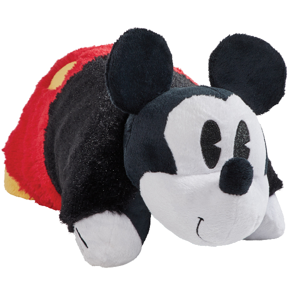 "Pillow Pets 16"" Disney Retro Mickey Mouse Stuffed Animal Plush Toy Pillow Pet"