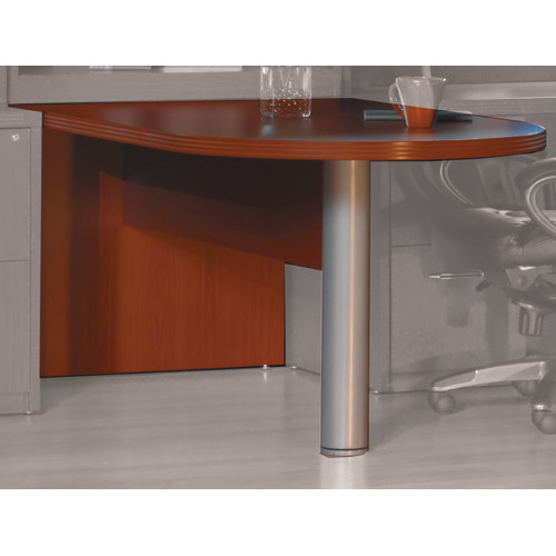 Mayline Group Aberdeen 29.5'' H x 72'' W Desk Peninsula