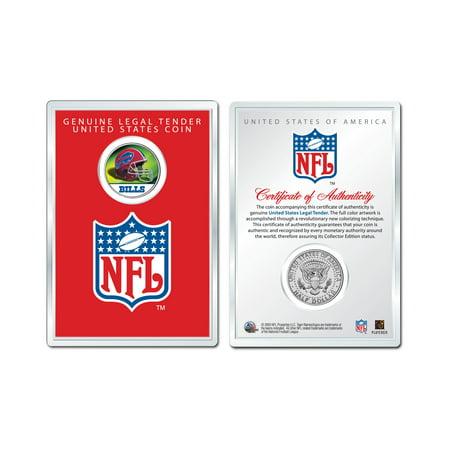 Dollar Bill Cake (BUFFALO BILLS NFL Helmet JFK Half Dollar U.S. Coin w/ NFL Display Case)