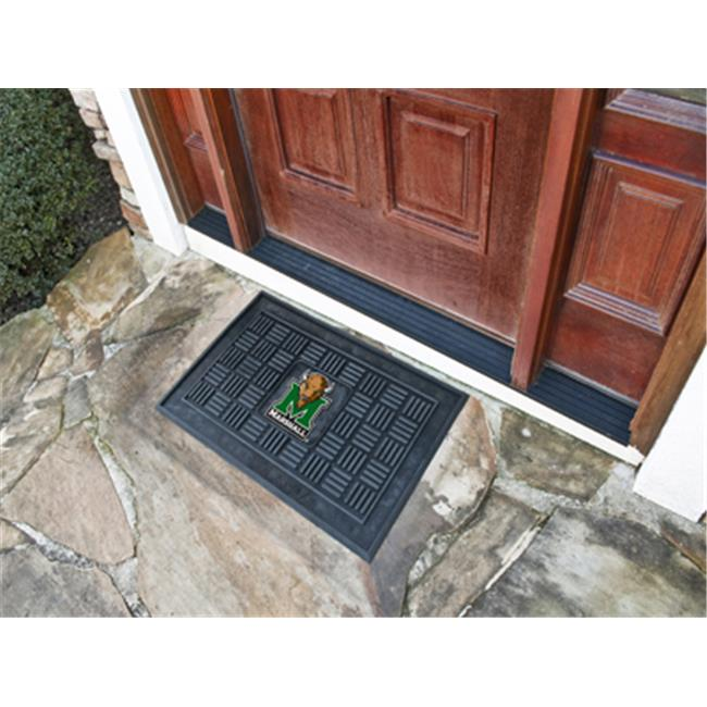 COL - 19 in. x30 in.  - Marshall University Medallion Door Mat