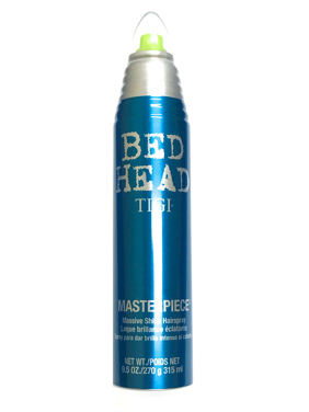 Tigi Bed Massive Shine Hairspray, Head Masterpiece 9.5 oz