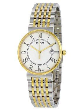 Mido Dorada White Dial Two-tone Stainless Steel Ladies Watch M11309261