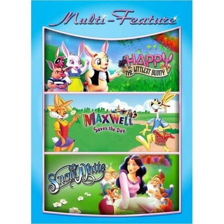 Happy: The Littlest Bunny / Maxwell Saves The Day / Snow White (Triple Feature) (Full Frame) (Happy Halloween Full Movies)