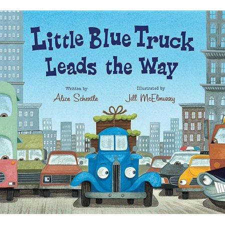 Little Blue Truck: Little Blue Truck Leads the Way Board Book (Board book)