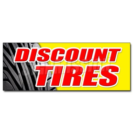 12   Discount Tires Decal Sticker Sale Installation Balance Alignment Service