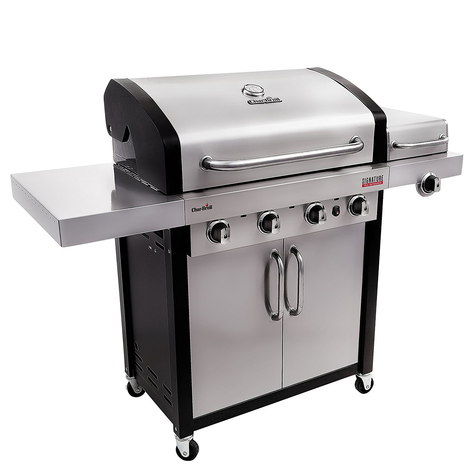 Char-Broil Signature TRU-Infrared 4 Burner Gas Grill
